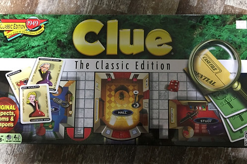 Classic Clue Board Game