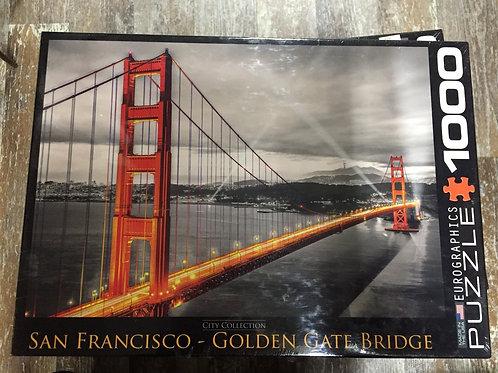 Golden Gate Bridge - 1000 Piece Puzzle