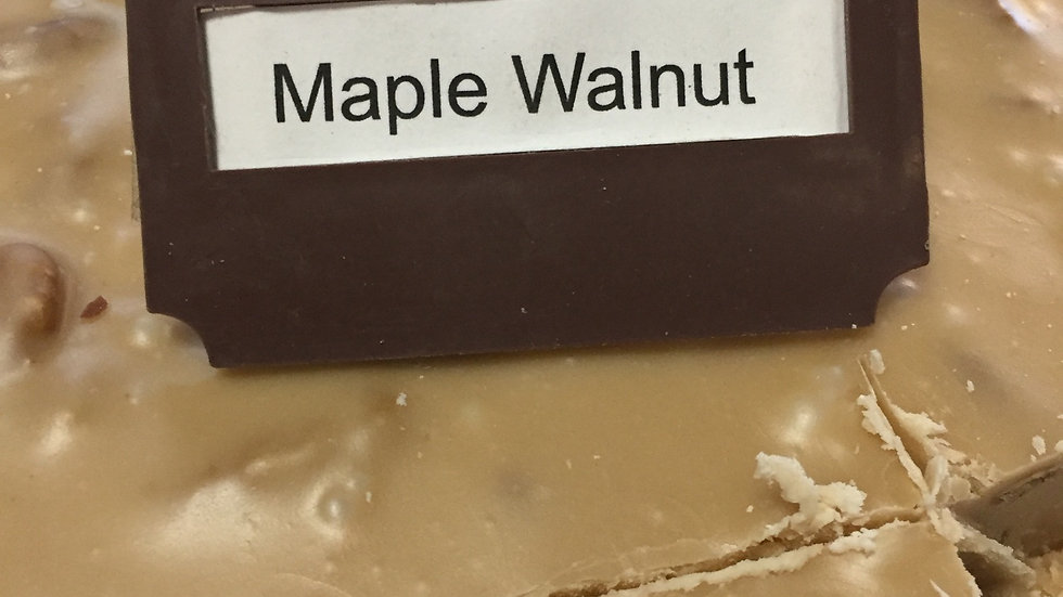 WFCS Maple Walnut Fudge