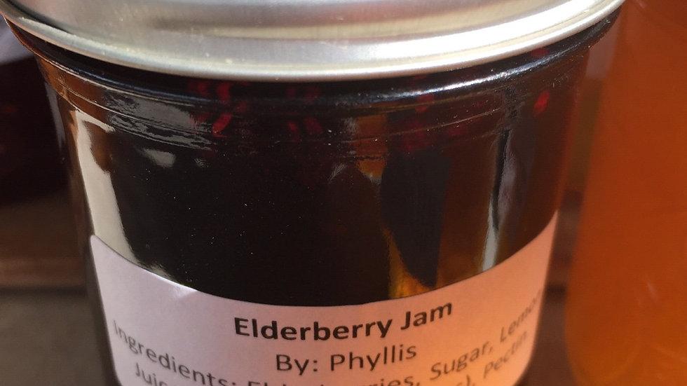 Phyllis's Elderberry Jam (250 ml)