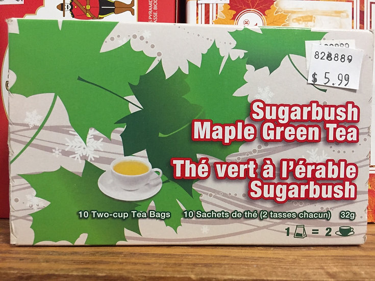 Sugarbush Maple Green Tea (10 bags)