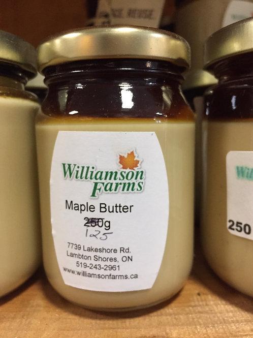 Maple Butter 125g jar