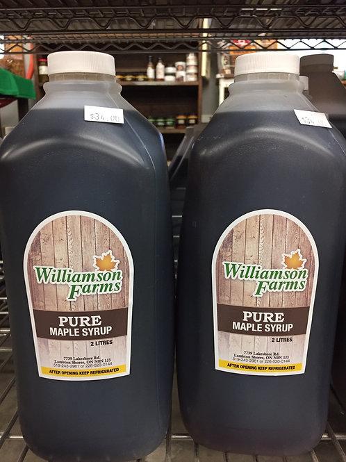 2 Litre Maple Syrup - farmgate