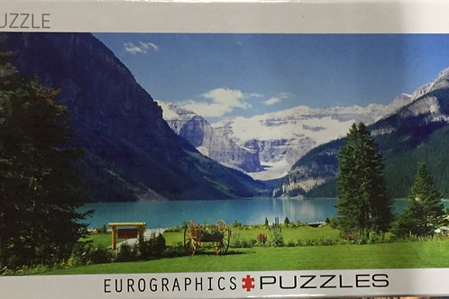 Lake Louise - 1000 Piece Panoramic Puzzle