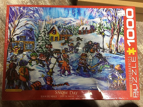 Snow Day - 1000 Piece Puzzle