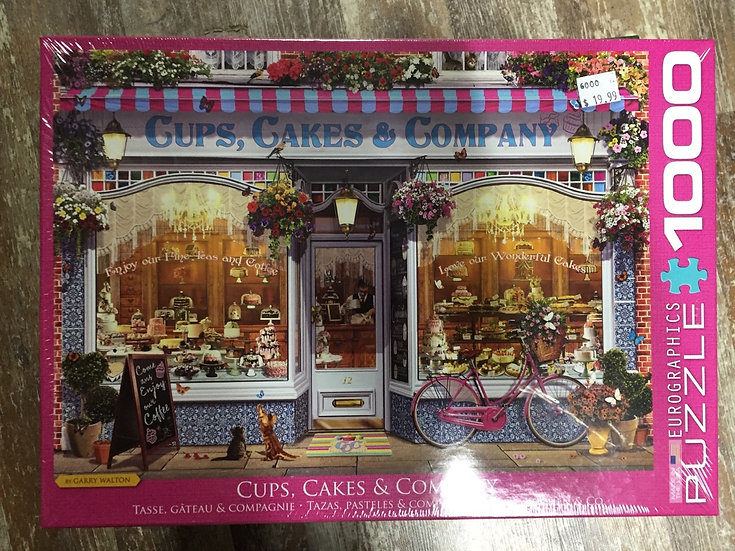 Cups, Cakes, and Company - 1000 Piece Puzzle
