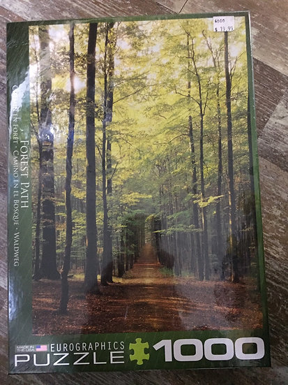 Forest Path - 1000 Piece Puzzle