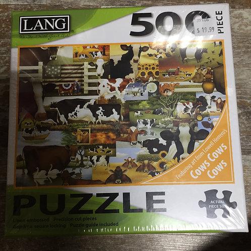 500 Piece Lang Puzzle