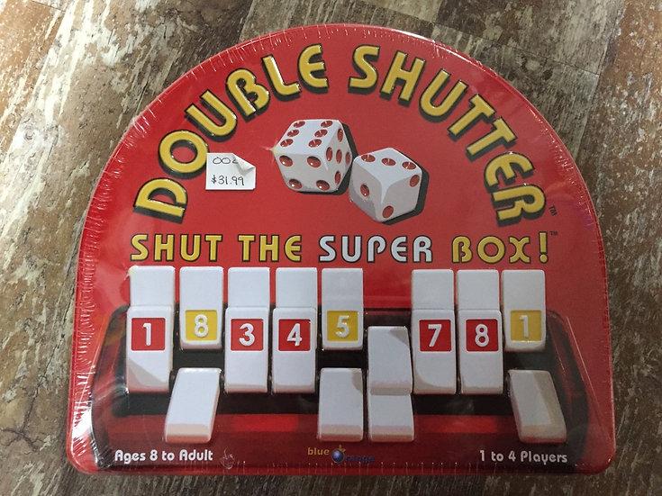 Double Shutter: Shut the Box Game