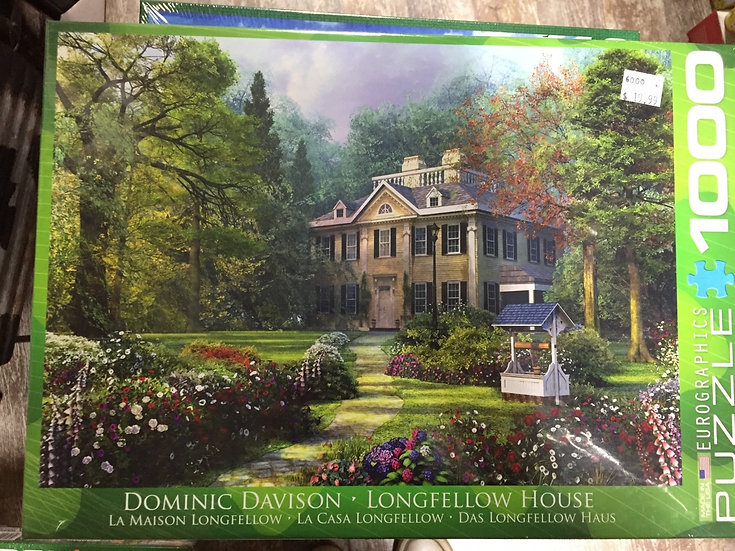 Longfellow House - 1000 Piece Puzzle