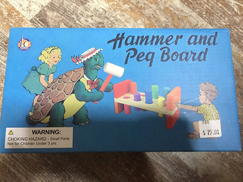 Hammer and Peg Board