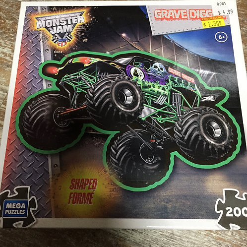 200 Piece Monster Truck Puzzle