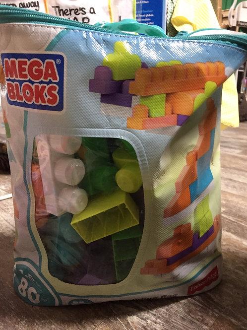 Mega Bloks 80 Piece Bag