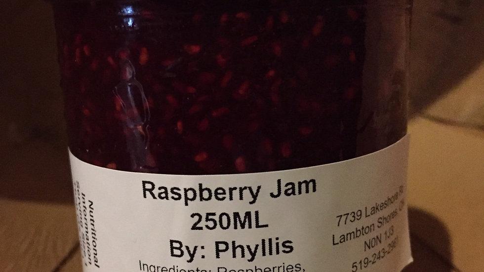 Phyllis's Raspberry Jam (250 ml)