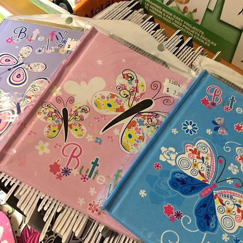 Butterfly Dreams Locking Journal