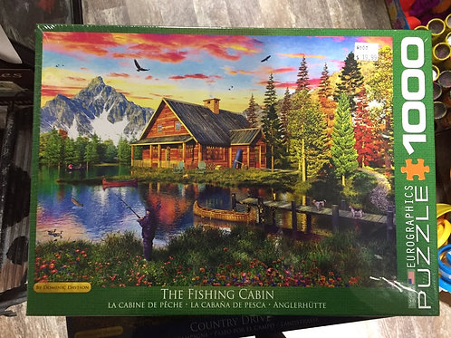 The Fishing Cabin - 1000 Piece Puzzle