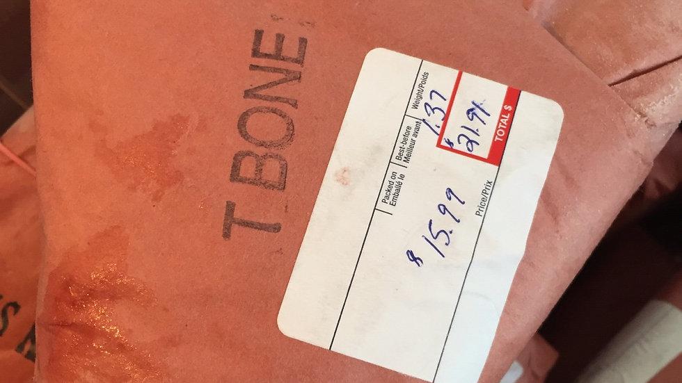 WF Frozen T-Bone Steak (Estimated Price)
