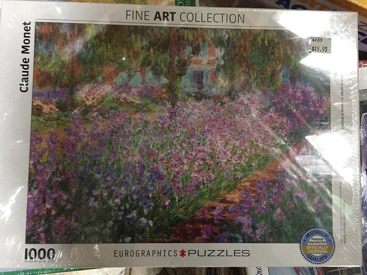 Monet's Garden - 1000 Piece Puzzle