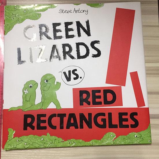 Green Lizards vs. Red Rectangles - Steve Antony