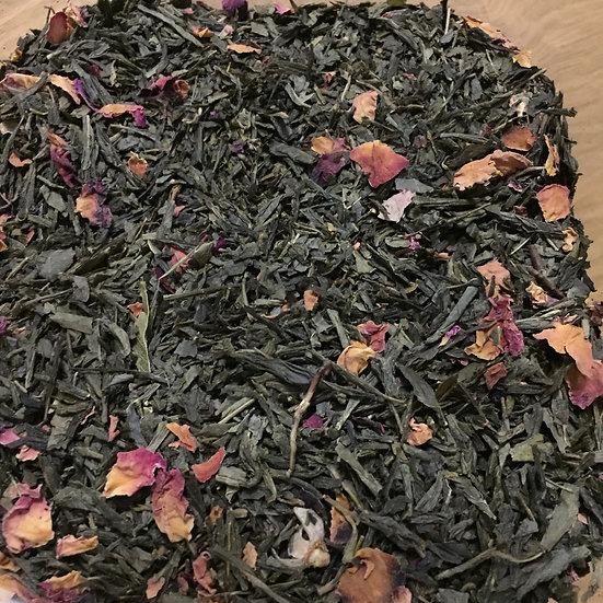 Sencha Kyoto Cherry Rose Loose Leaf Tea