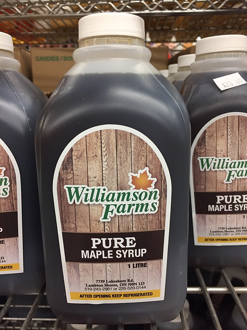 1 Liter Maple Syrup
