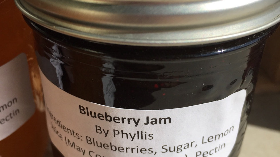 Phyllis's Blueberry Jam (250 ml)