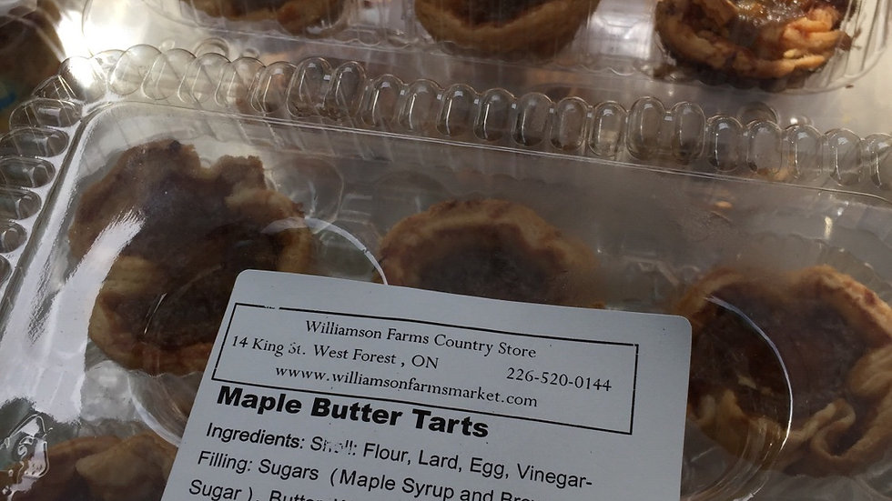 WFCS - Maple Butter Tarts (6)