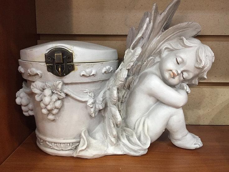 Angel Urn or Treasure Box