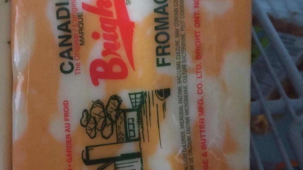WF Bright Brand Marble Cheese per lb