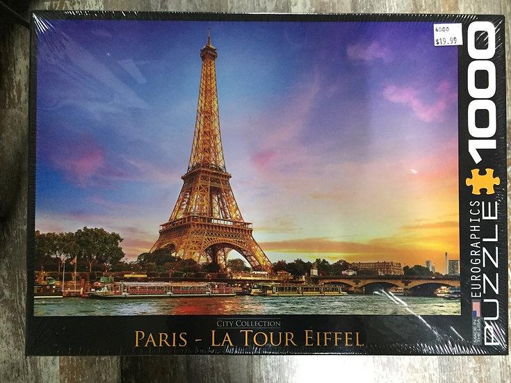 La Tour Eiffel - 1000 Piece Puzzle