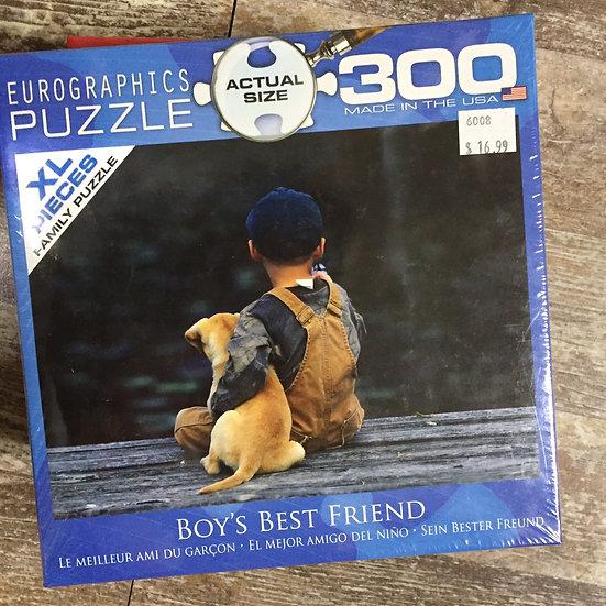 Boy's Best Friend - 300 Piece Puzzle