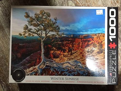 Winter Sunrise - 1000 Piece Puzzle
