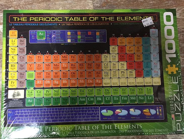 Periodic Table - 1000 Piece Puzzle