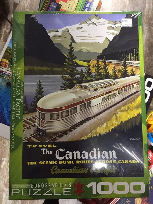 Canadian Pacific - 1000 Piece Puzzle