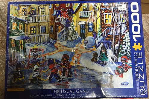The Usual Gang - 1000 Piece Puzzle