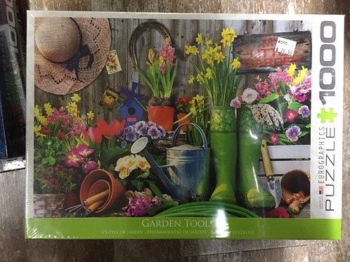 Garden Tools - 1000 Piece Puzzle