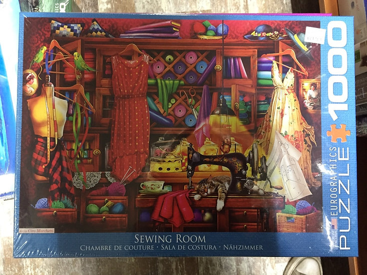 Sewing Room - 1000 Piece Puzzle