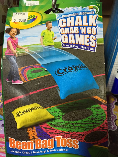 Crayola Chalk Grab and Go Games