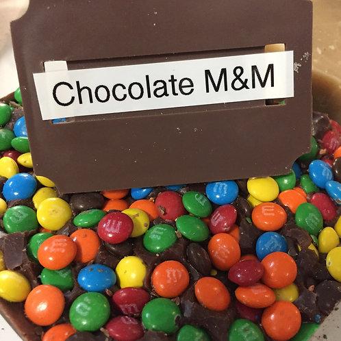 Chocolate M&Ms Fudge
