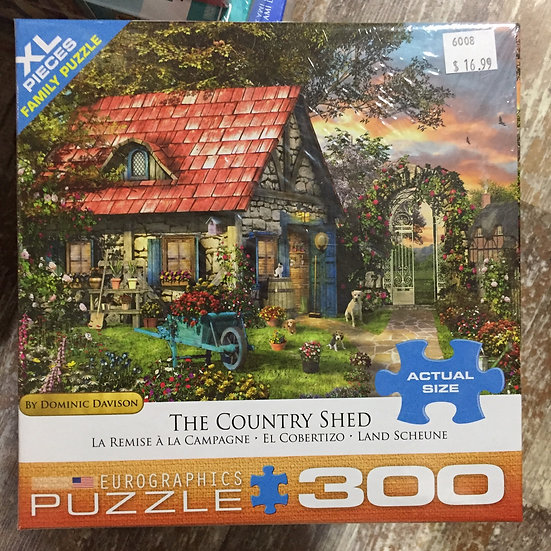The Country Shed - 300 Piece Puzzle