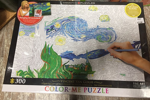300 Piece Colour-Me Puzzle
