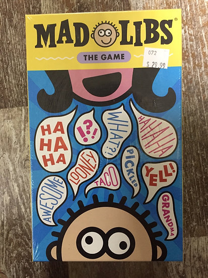 Mad Libs - the Game