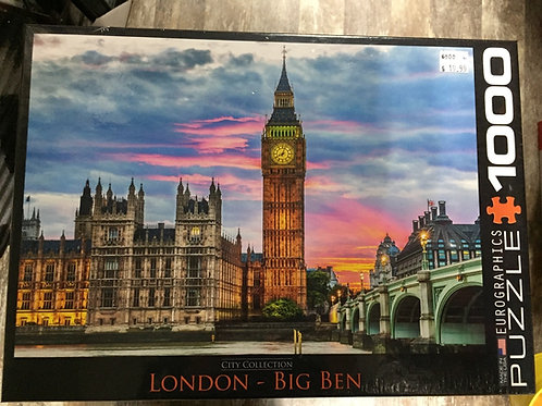 Big Ben - 1000 Piece Puzzle