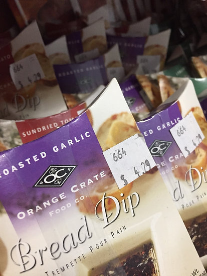 Orange Crate Bread Dip Mixes