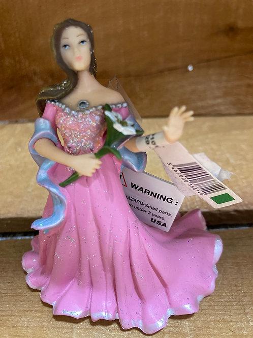 "4"" x 3.5"" Plastic Fairy Princess Toy"