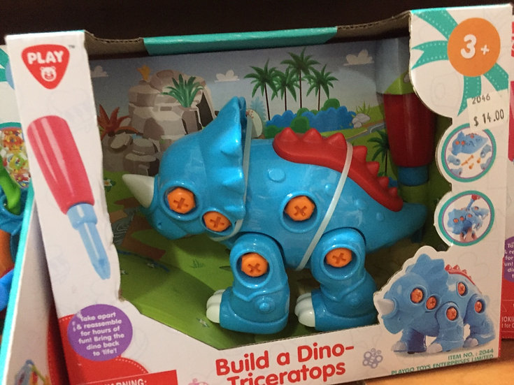Build a Triceratops