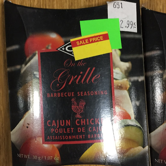 Orange Crate Cajun Chicken Seasoning