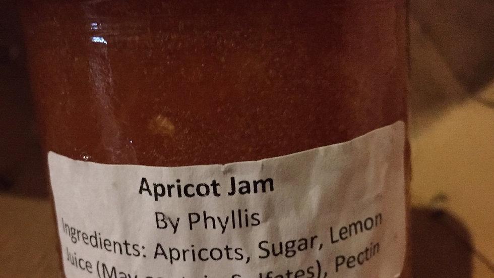 Phyllis's Apricot Jam (250 ml)