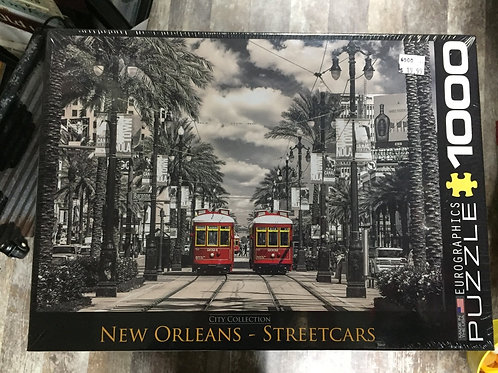 New Orleans Streetcars - 1000 Piece Puzzle