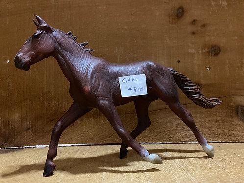 """7"""" x 4.5"""" Plastic Horse Toy"""